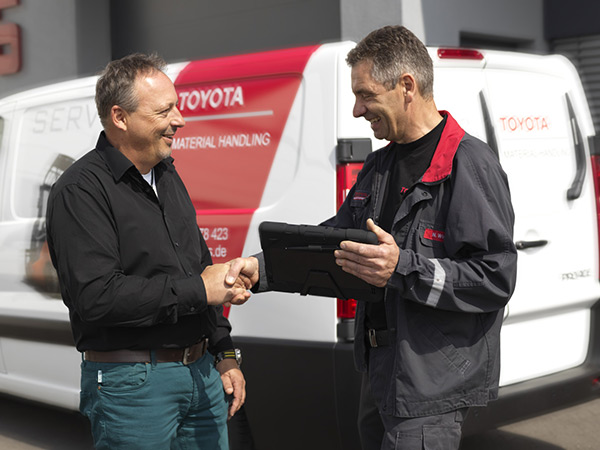 Toyota delivery
